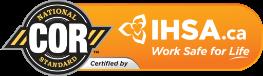 National COR Standard IHSA certification badge