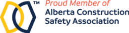Alberta Construction Safety Association membership badge